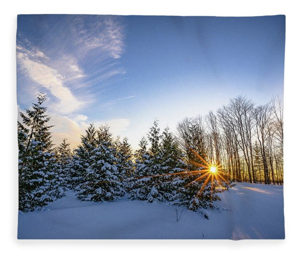 Star Bright Fleece Blanket