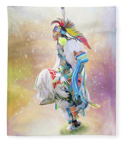 Star Dancer Fleece Blanket