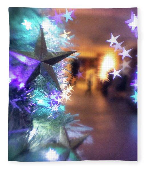 Stary Night 1 Fleece Blanket
