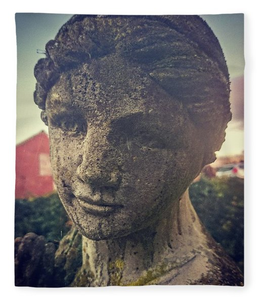 Stone Lady Fleece Blanket