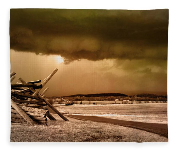 Storm Brewing Fleece Blanket
