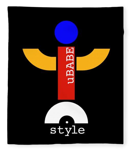 Style Black Fleece Blanket