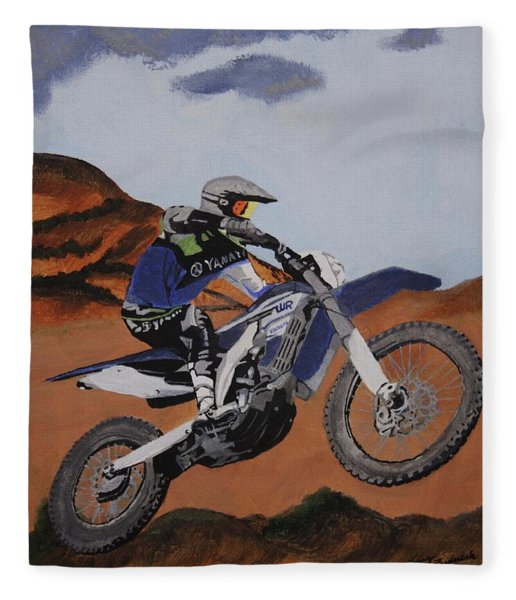 Summer Ride 2 Fleece Blanket