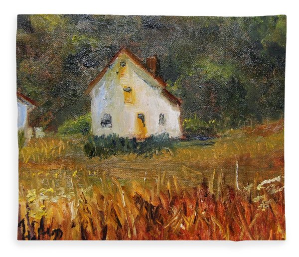 Summer Shack Fleece Blanket