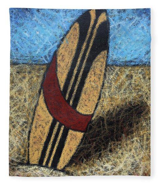 Surfboard's Ready Fleece Blanket