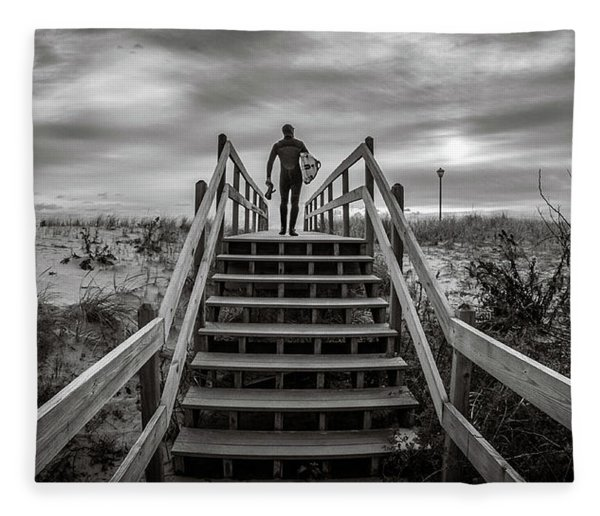 Surfer Fleece Blanket