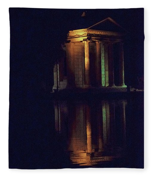 Temple Of Asclepius Fleece Blanket