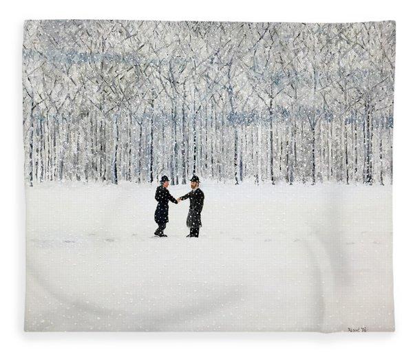 The Agreement Fleece Blanket
