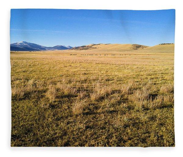 The Beautiful Valley Fleece Blanket
