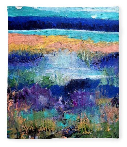 The Far Shore Fleece Blanket