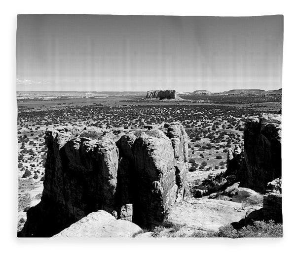 The Sacred Mesa Fleece Blanket