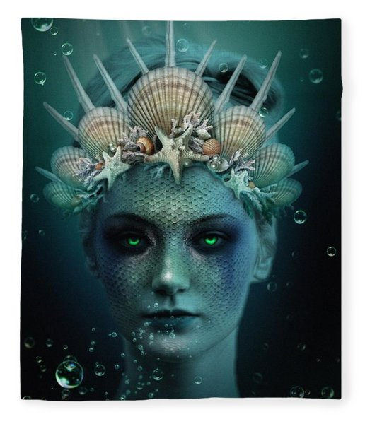 The Siren Fleece Blanket
