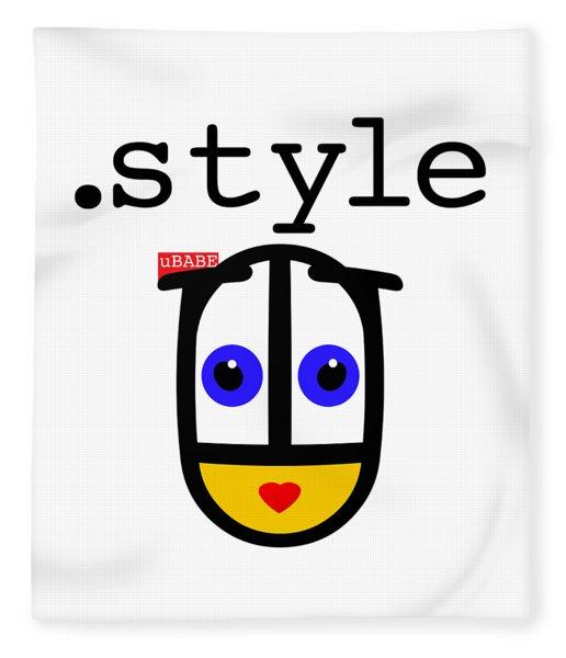 The Style Fleece Blanket