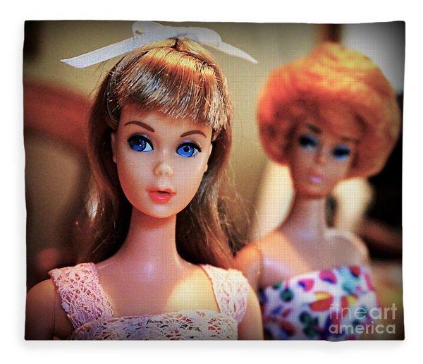 The Two Dolls Fleece Blanket
