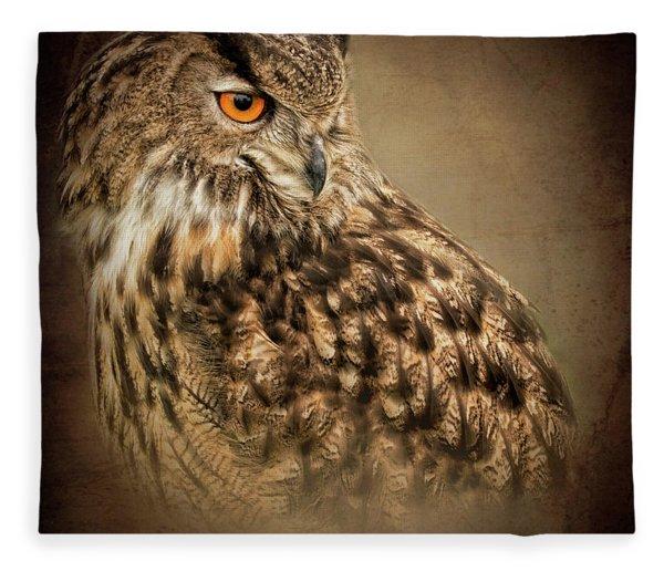 The Watchful Eye Fleece Blanket