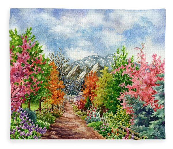 Through All Seasons Fleece Blanket