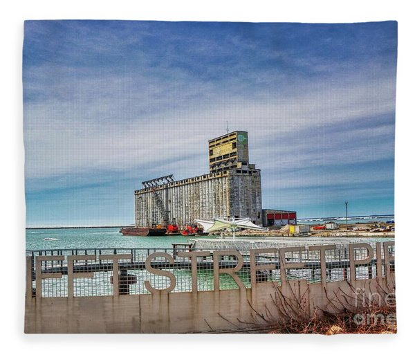 Tifft St Pier Fleece Blanket