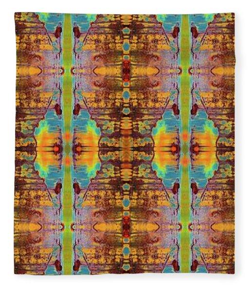 Tribal Dreams Fleece Blanket