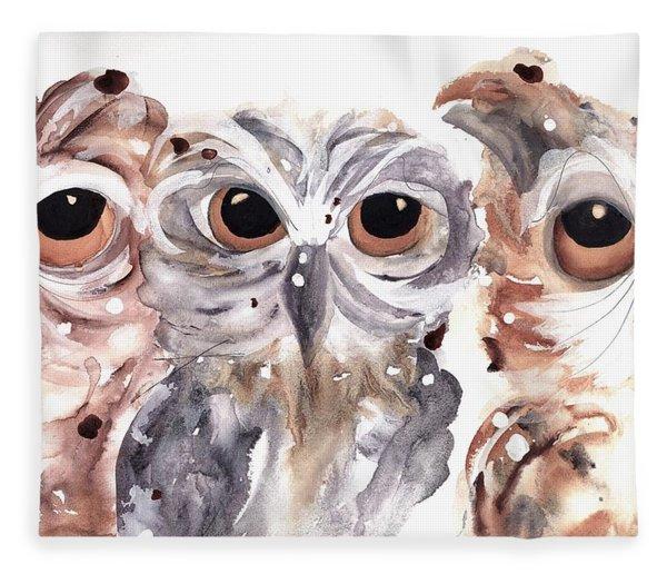 Trouble Fleece Blanket