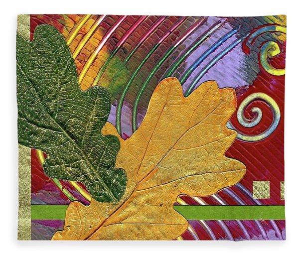 Two Oaks Fleece Blanket