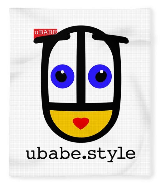 Ubabe De Stijl Fleece Blanket