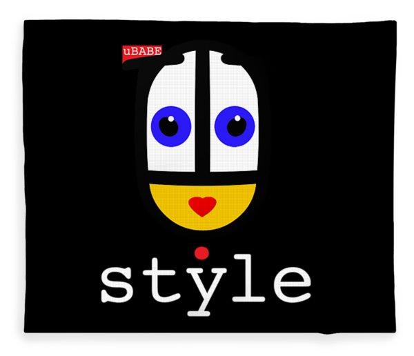 Ubabe Dot Style Fleece Blanket