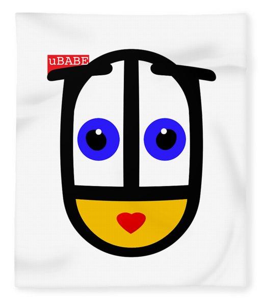 uBABE Logo Fleece Blanket