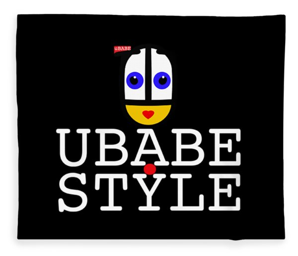 Ubabe Style Url Fleece Blanket
