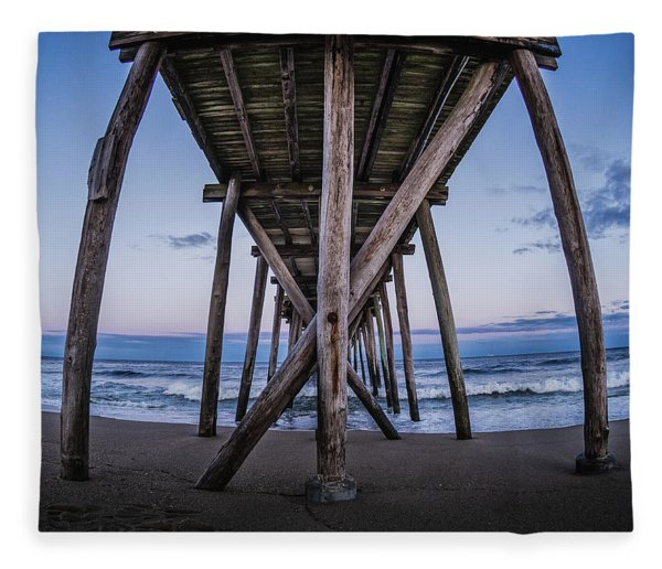 Under The Pier Fleece Blanket