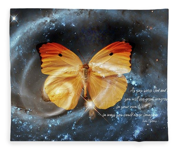 Universal Butterfly Fleece Blanket
