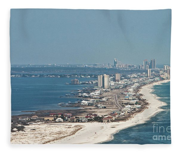 West Beach-1 Fleece Blanket