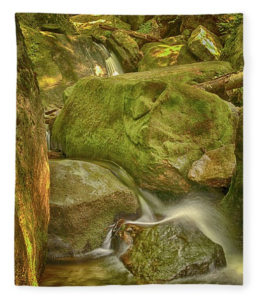Wet Rocks Fleece Blanket