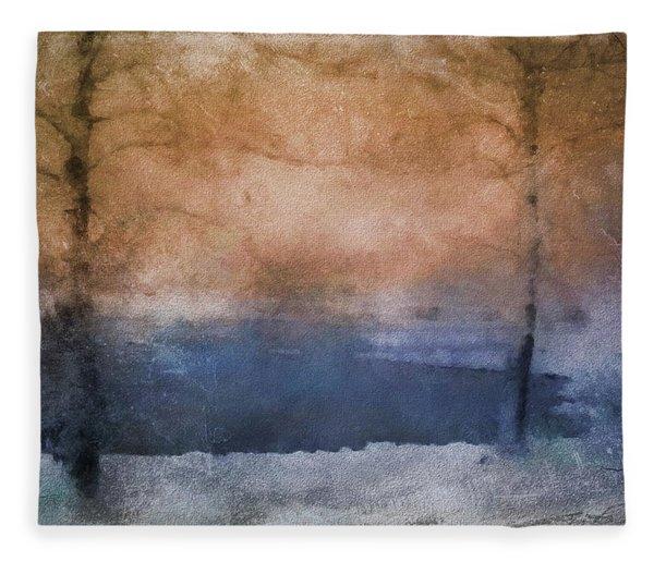 Winter Landscape  Fleece Blanket