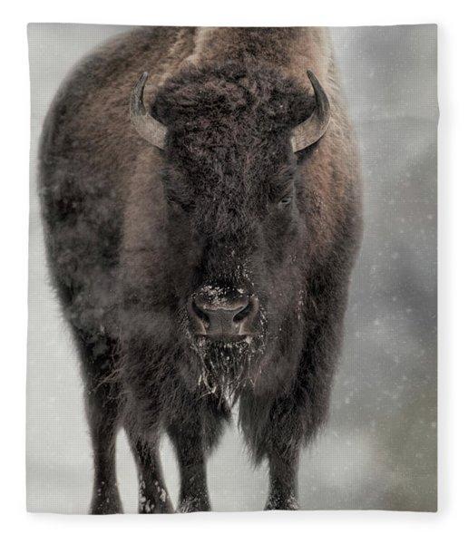Winter Warrior Fleece Blanket
