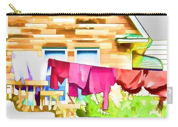 A Summer's Day - Digital Art Carry-all Pouch