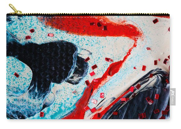 Abstract Original Artwork One Hundred Phoenixes Untitled Number Fifteen Carry-all Pouch
