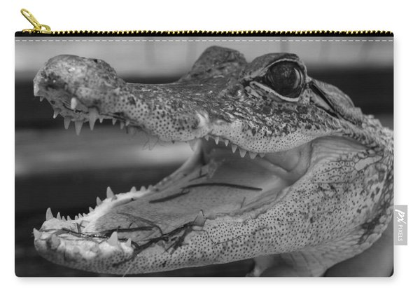 Baby Gator B W Carry-all Pouch