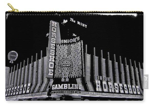 Binion's Horseshoe Casino Exterior Casino Center Las Vegas Nevada 1979-2014 Carry-all Pouch