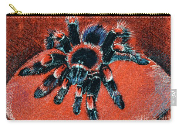 Brachypelma Smithi Redknee Tarantula  Carry-all Pouch