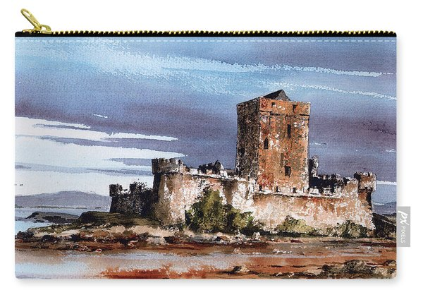 Doe Castle In Donegal Carry-all Pouch
