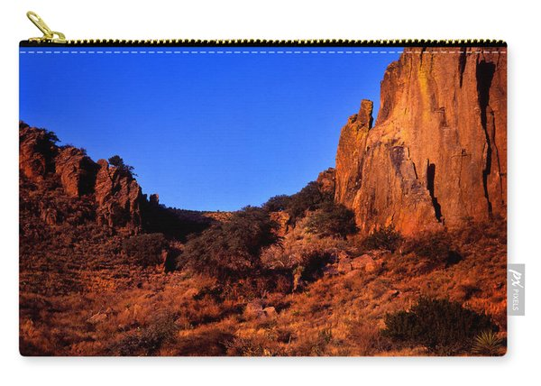 Early Morning On The Chihuahuan Desert Carry-all Pouch