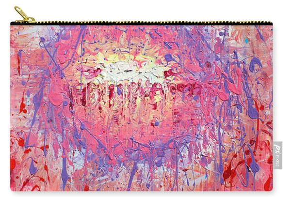 Rich Texture Abstract Painting Carry-all Pouch