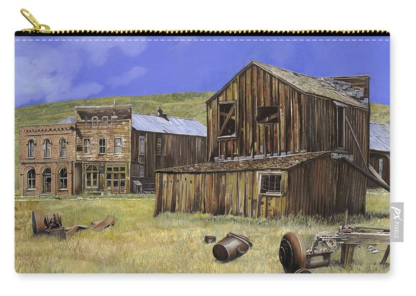 Ghost Town Of Bodie-california Carry-all Pouch