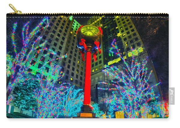 Nightlife Around Charlotte During Christmas Carry-all Pouch