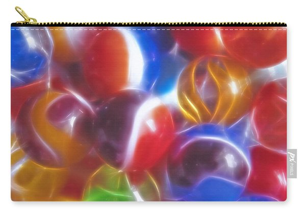 Nostalic Marbles - Fractal Carry-all Pouch