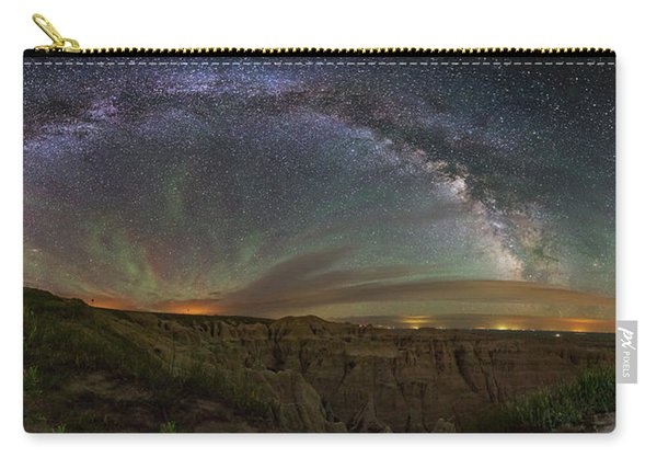 Pinnacles Overlook At Night Carry-all Pouch