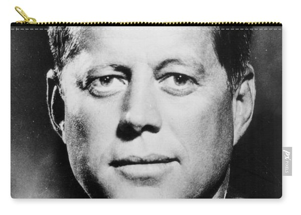 Portrait Of John F. Kennedy  Carry-all Pouch