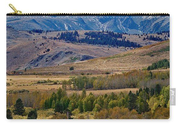 Carry-all Pouch featuring the photograph  Sierras Mountains by Mae Wertz