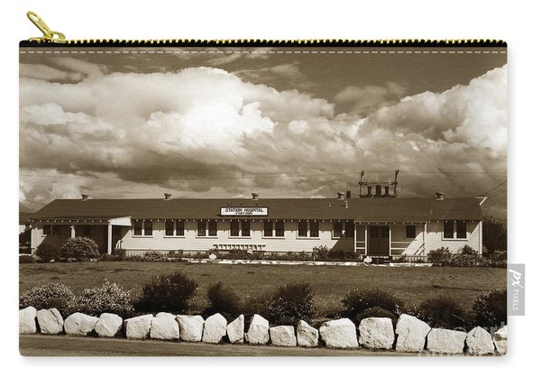 The Fort Ord Station Hospital Administration Building T-3010 Building Fort Ord Army Base Circa 1950 Carry-all Pouch