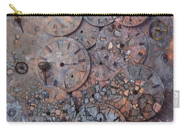 Watch Faces Decaying Carry-all Pouch